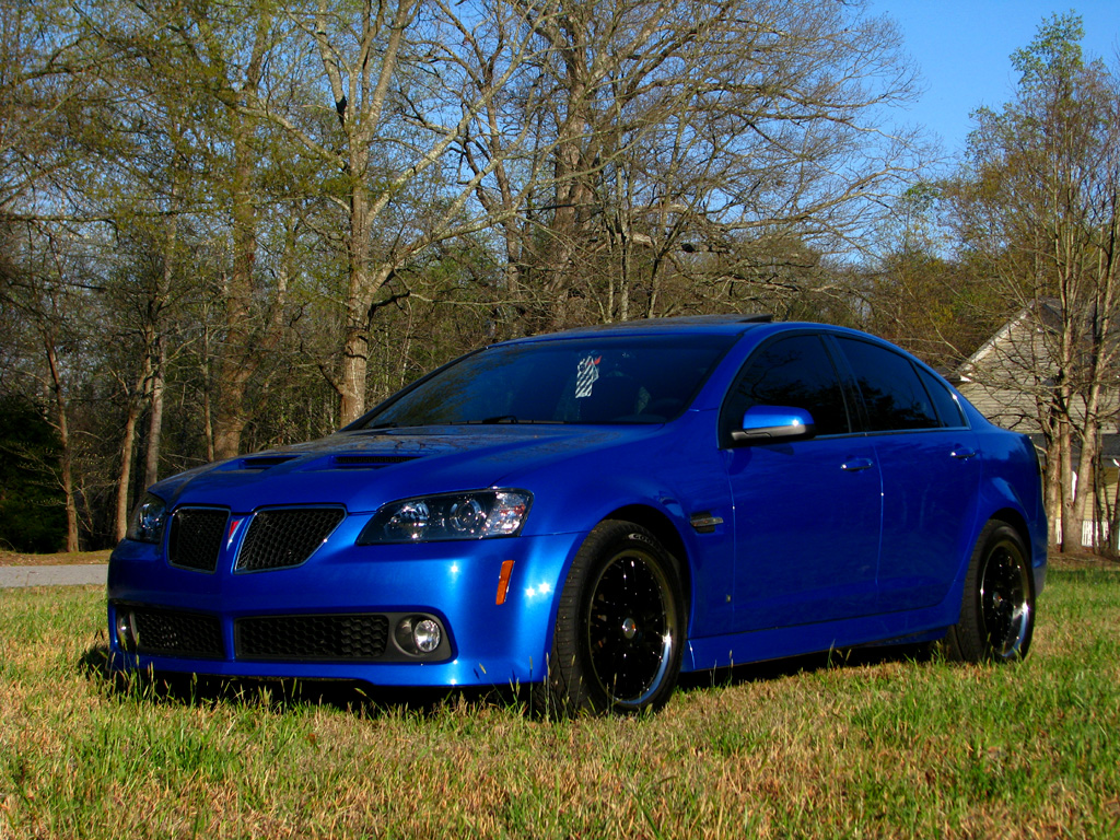Pic Request Stryker Blue Aftermarket Wheels Pontiac